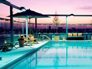 plunge Rooftop Bar & Lounge at Hotel Gansevoort