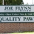 Joe Flynn Limited and Quality Pawn