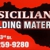 Sicilian Building Materials