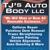 TJ's Auto Body LLC