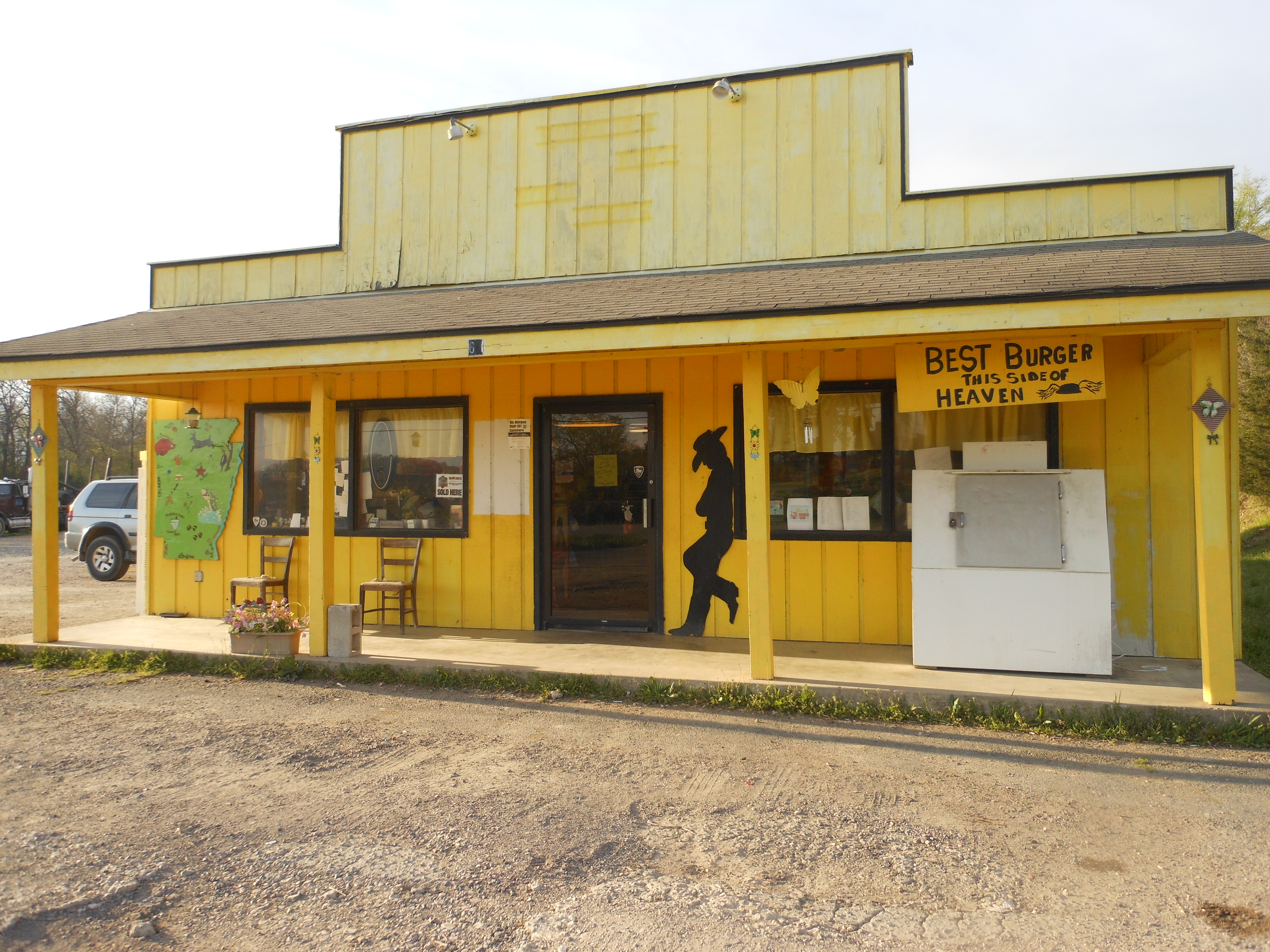 The Yellow Store, Pencil Bluff AR