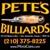 Pete's Billiards