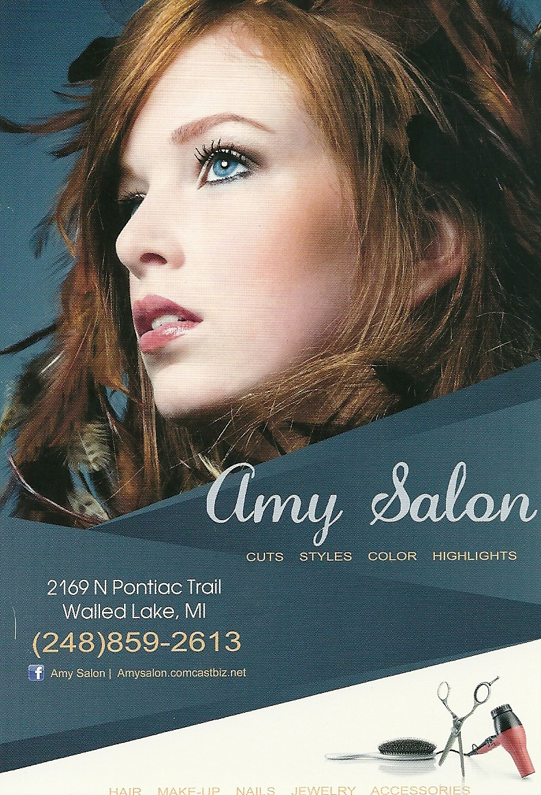 Amy Salon, Commerce Township MI