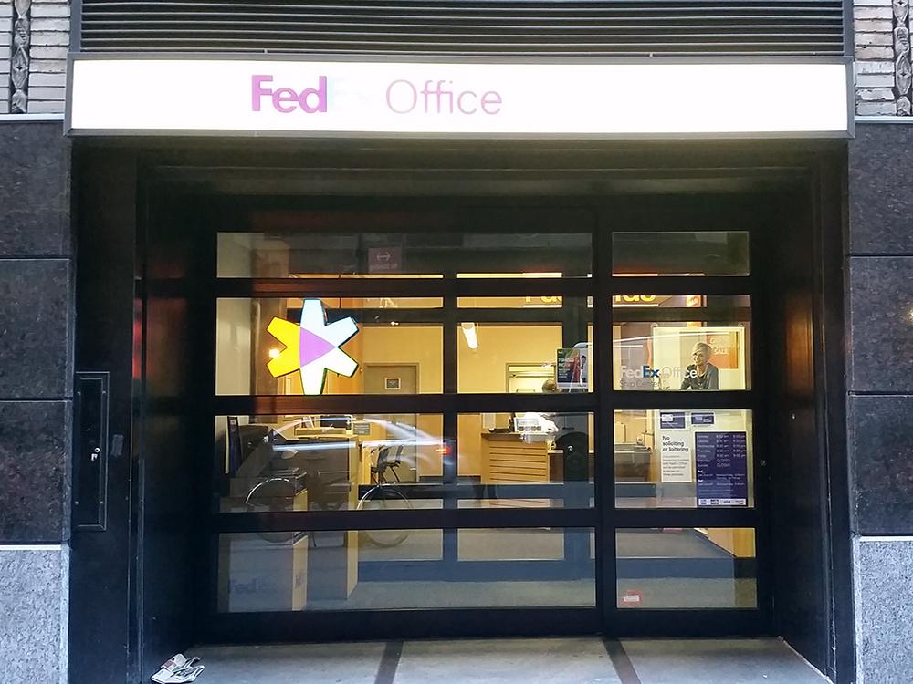 Fedex Office Ship Center New York Ny 10001 Yp Com