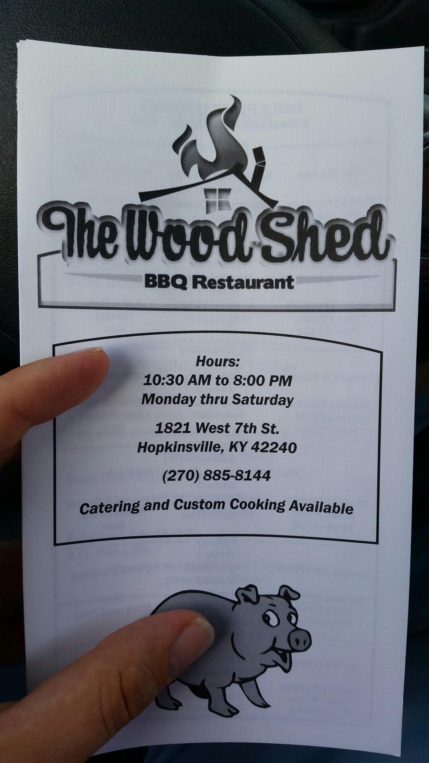Woodshed Pit Bar-B-Que & Restaurant, Hopkinsville KY