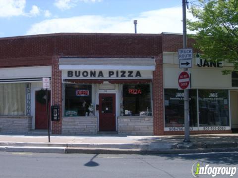 Buona Pizza, Bernardsville NJ