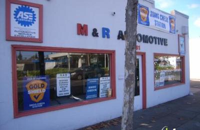 M & R Automotive - Menlo Park, CA
