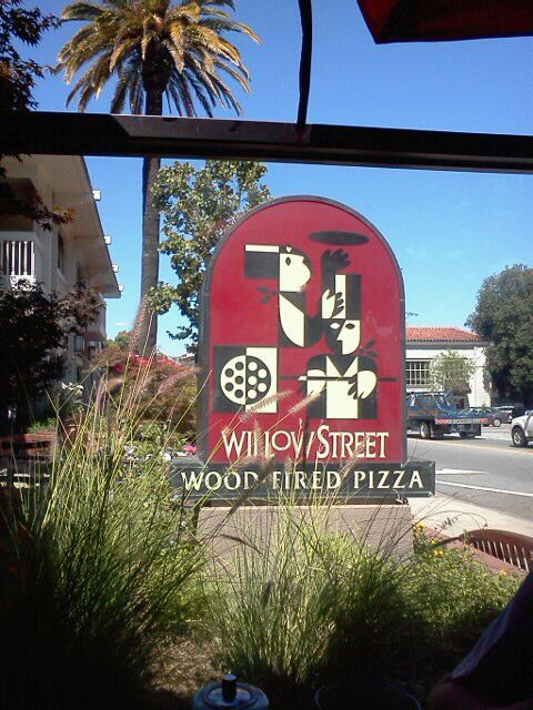 Willow Street Wood Fired Pizza, Los Gatos CA