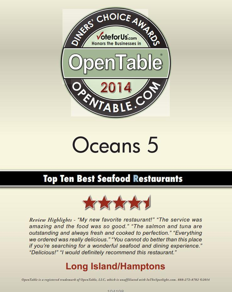 Oceans 5 Seafood Market and Eatery, Shoreham NY