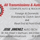 All Transmissions & Auto Service