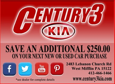Century 3 Kia, West Mifflin PA