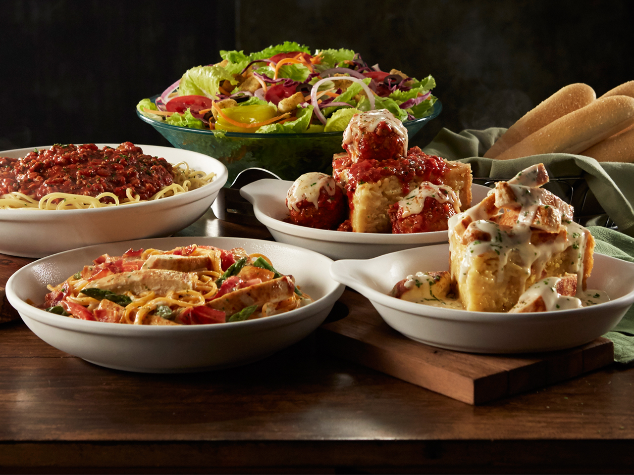 Olive Garden Italian Restaurant, Wilkes Barre PA