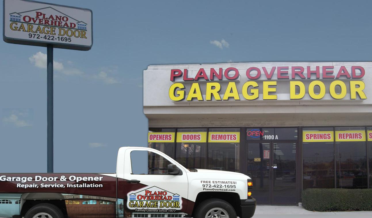 Plano overhead door plano tx 75074 for Garage door repair plano