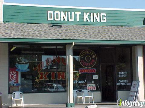 Donut King, Redwood City CA