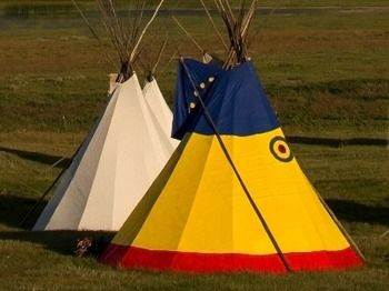 Lodgepole Gallery & Tipi Village - Campground, Browning MT