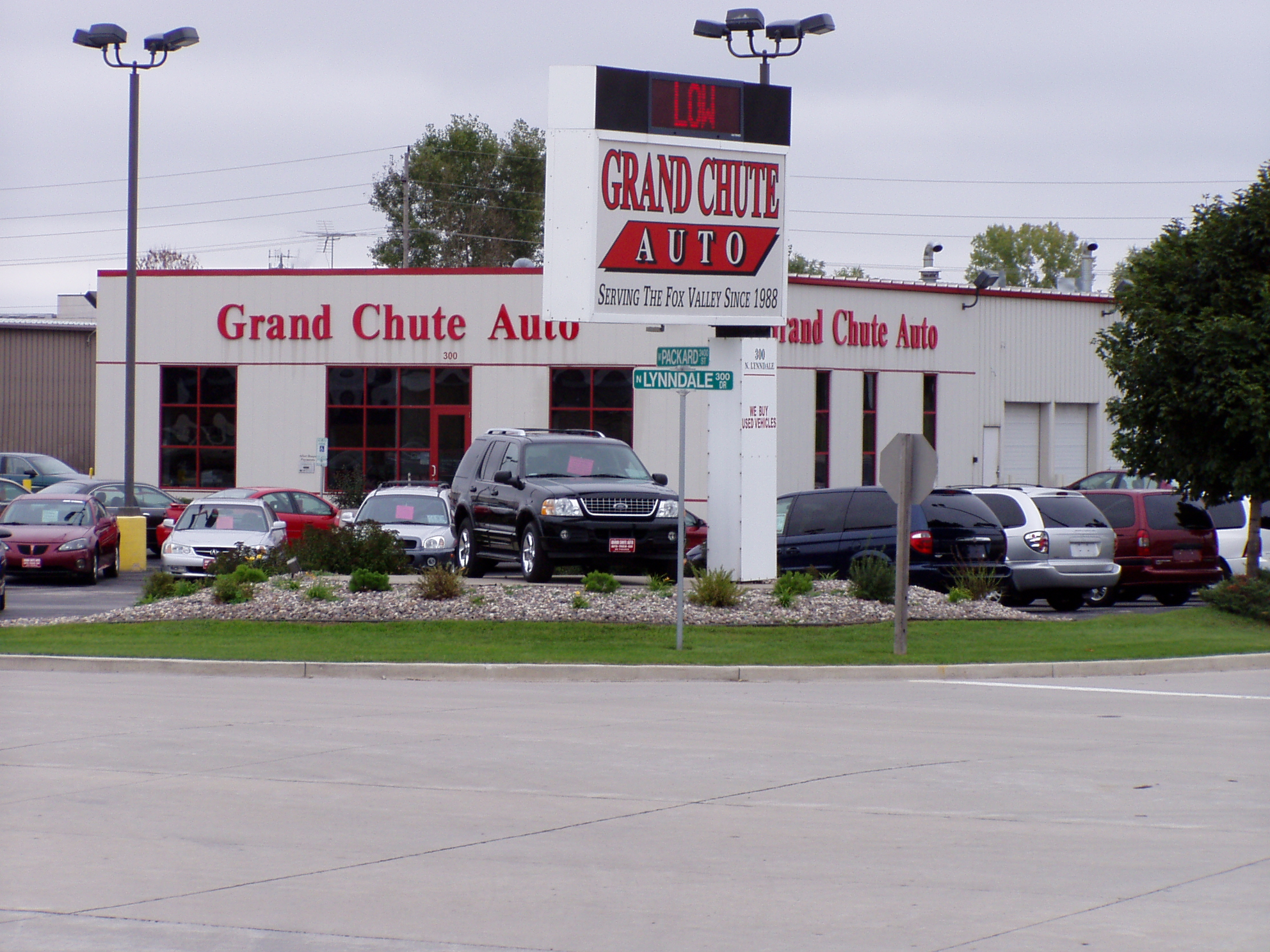 Grand Chute Auto Sales, Appleton WI