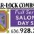 Shear-Lock Combs West
