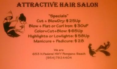 Attractive Hair Salon, Pompano Beach FL