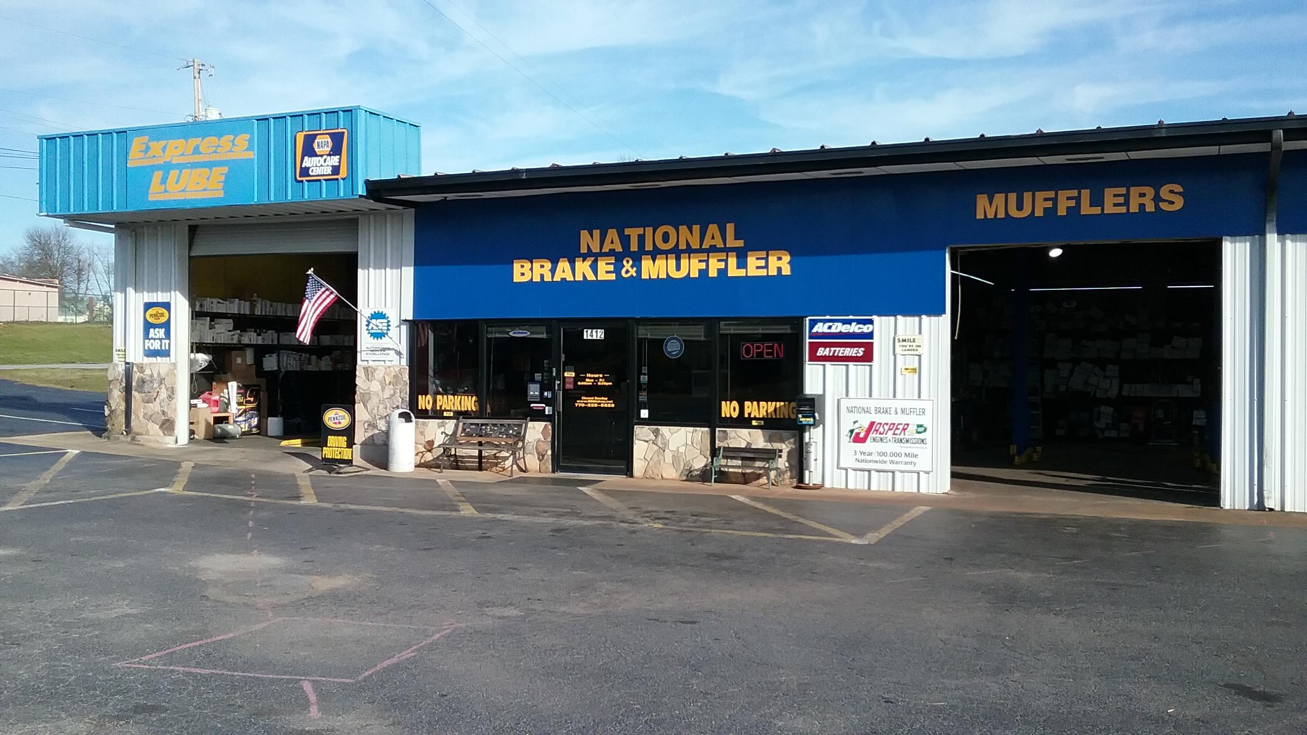 national brake muffler shop griffin ga 30223. Black Bedroom Furniture Sets. Home Design Ideas