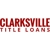 Clarksville Title Loans