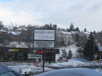 Manor Lodge Motel, Pullman WA