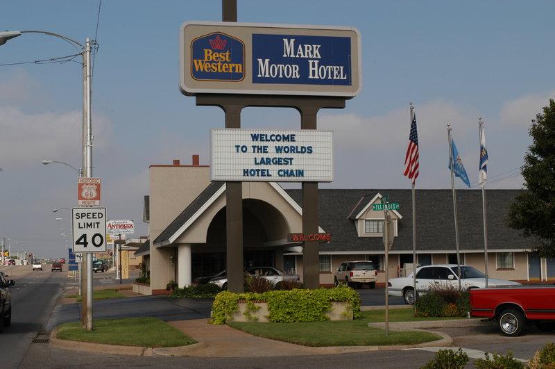 Best Western Mark Motor Hotel, Weatherford OK