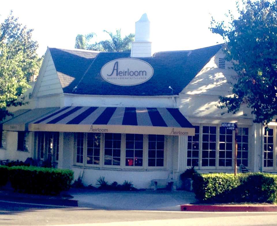 Aireloom Bakery, Toluca Lake CA