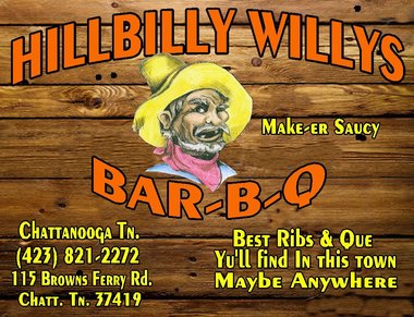 Hillbilly Willy's Bar-B-Que, Chattanooga TN