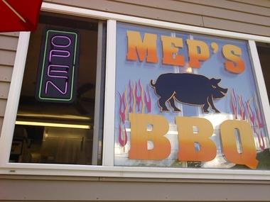 Mep's BBQ, Canaan NY