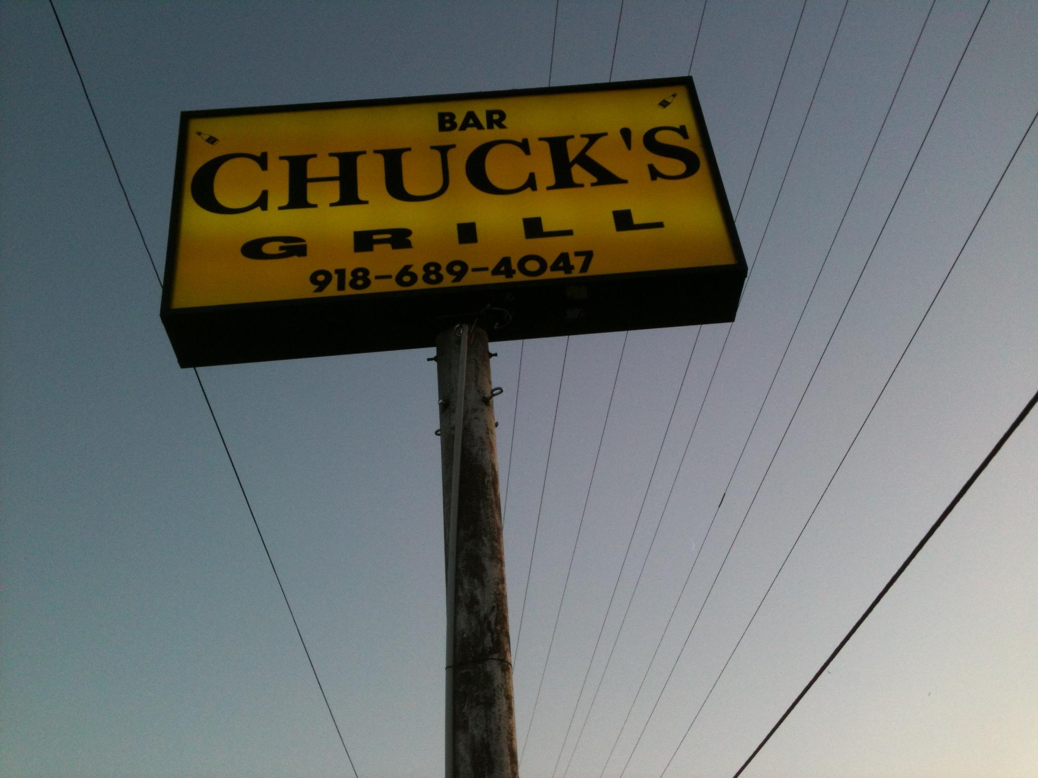 Chuck's Bar & Grill, Eufaula OK