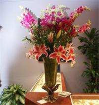 Burns Carousel of Flowers, Fort Smith AR
