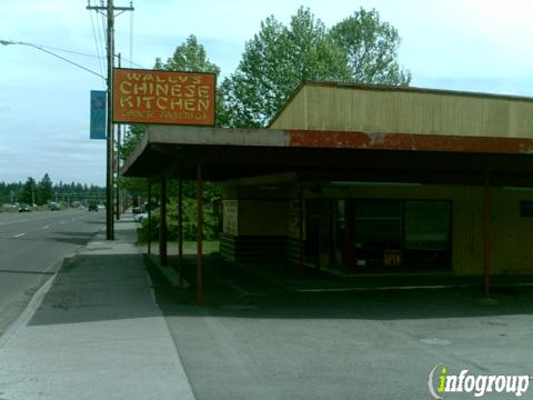 Wally's Chinese Kitchen, Canby OR