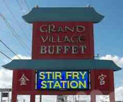 Grand Village Buffet, East Peoria IL