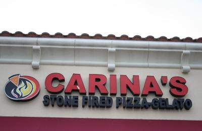 Carina's Stone Fired Pizza-Gelato - Miami, FL