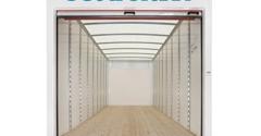 Units Mobile Storage of Phoenix, AZ - Mesa, AZ. E-Track tie down system built into each sidewall