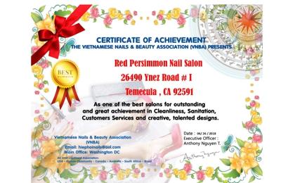 Red Persimmon Nail & Spa Plus - Temecula, CA