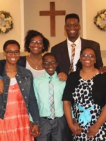 Pastor Eric Hite and family