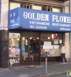 Golden Flower Vietnamese Restaurant - San Francisco, CA