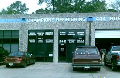 Champions Refinishing Upholstery 16920 Kuykendahl Rd Ste 223