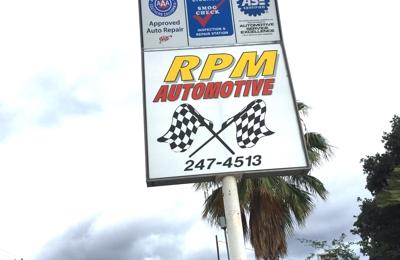 Rpm Automotive Repair Inc - Glendale, CA. RPM sign