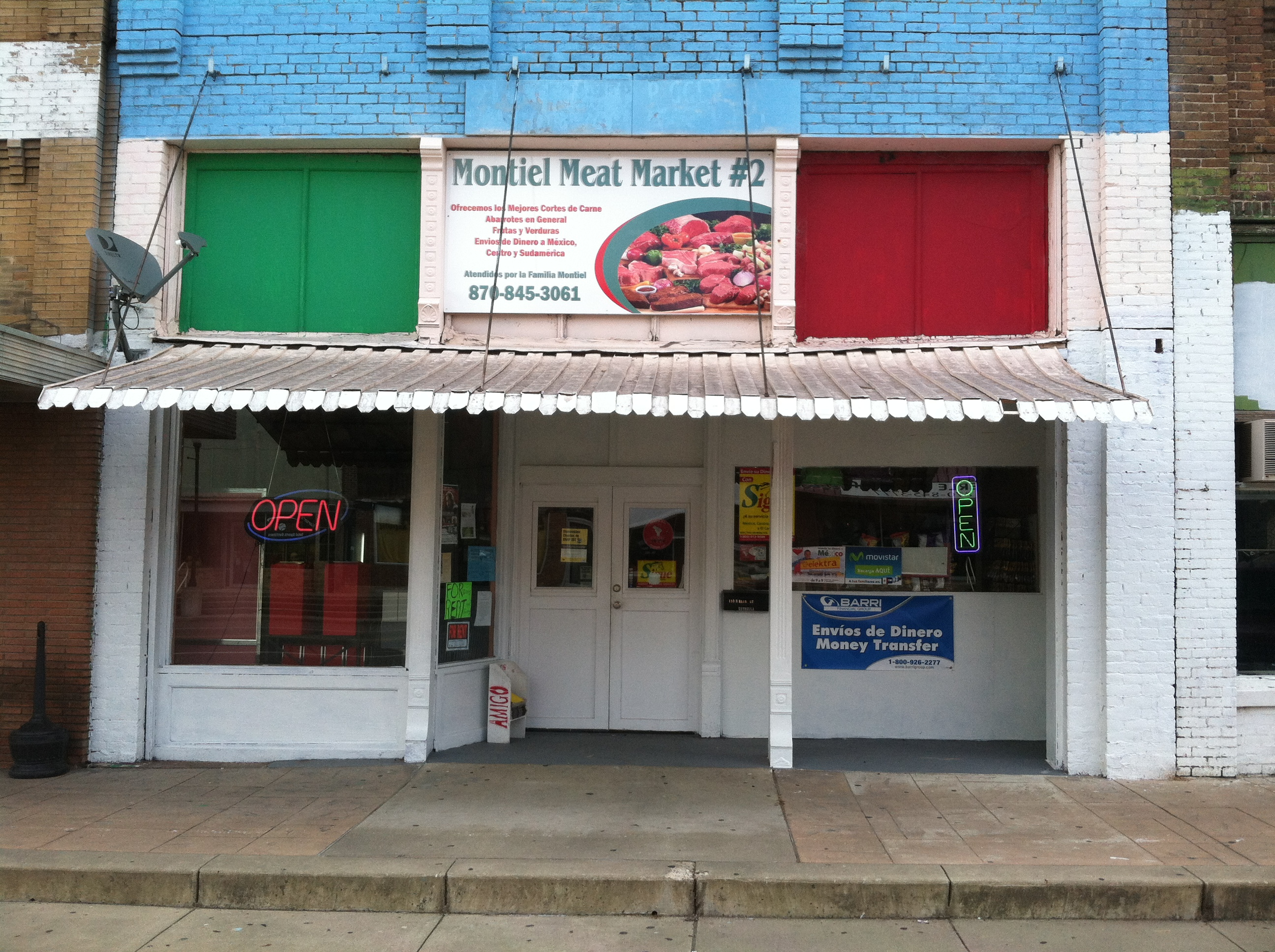 Meat Market Montiel 2 110 N Main St Nashville Ar 71852 Closed