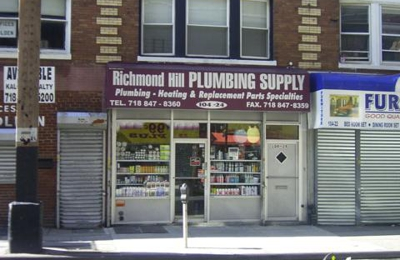 Richmond Hill Plumbing Supply - Richmond Hill, NY