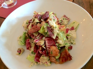 Salad at Presidio Social Club in San Francisco, CA