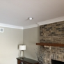 A Mark of Excellence Painting - Wheaton, IL. Skim coat ceiling, trim & wall paint