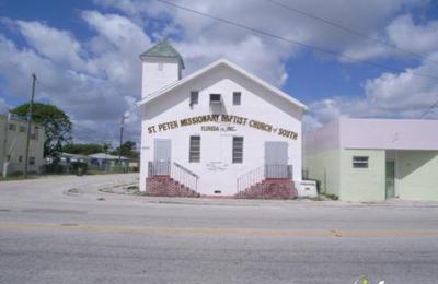 Saint Peter's Missionary Baptist Church - Miami, FL