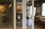 Arched top custom wood custom double arched top interior French door unit