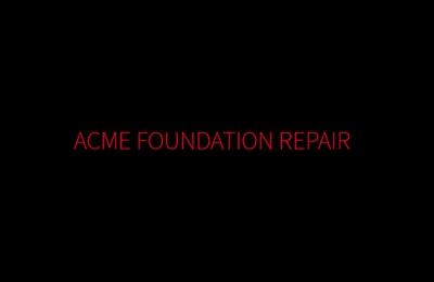 Acme Foundation Repair
