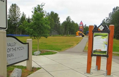 Valley Of The Moon Park - Anchorage, AK. Valley of the Moon Park 3 minutes drive to the south of best Anchorage dentist Anchorage Midtown Dental Center