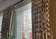 DC Interiors - Glenside, PA. Geometric drapery panels