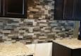 Nu Gen Tile & Stone - Merced, CA. Glass backsplash